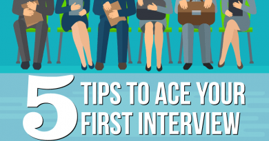 Top 5 Tips to Ace Your First Interview