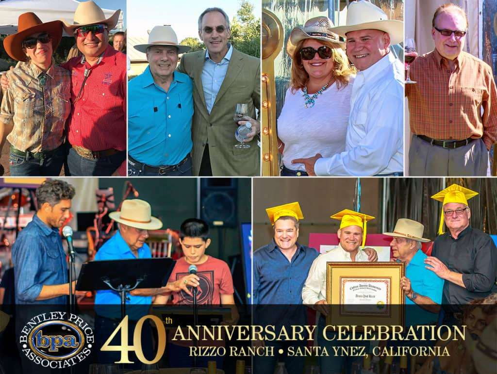 Bentley Price Associates celebrates 40 years in the hospitality and casino gaming industry.